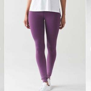 Lululemon Wunder Under ombre hi rise leggings